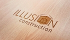 Illusion Wood Logo