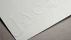 Jaco Embossed Paper Logo