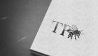 TP Bees Letterpress Logo