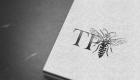 TP Bees Letterpress Logo 2