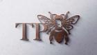 TP Bees Wood Logo